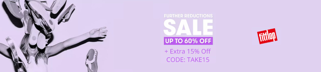 Summer Sale just got hotter! Up to 60% off + extra 15% off